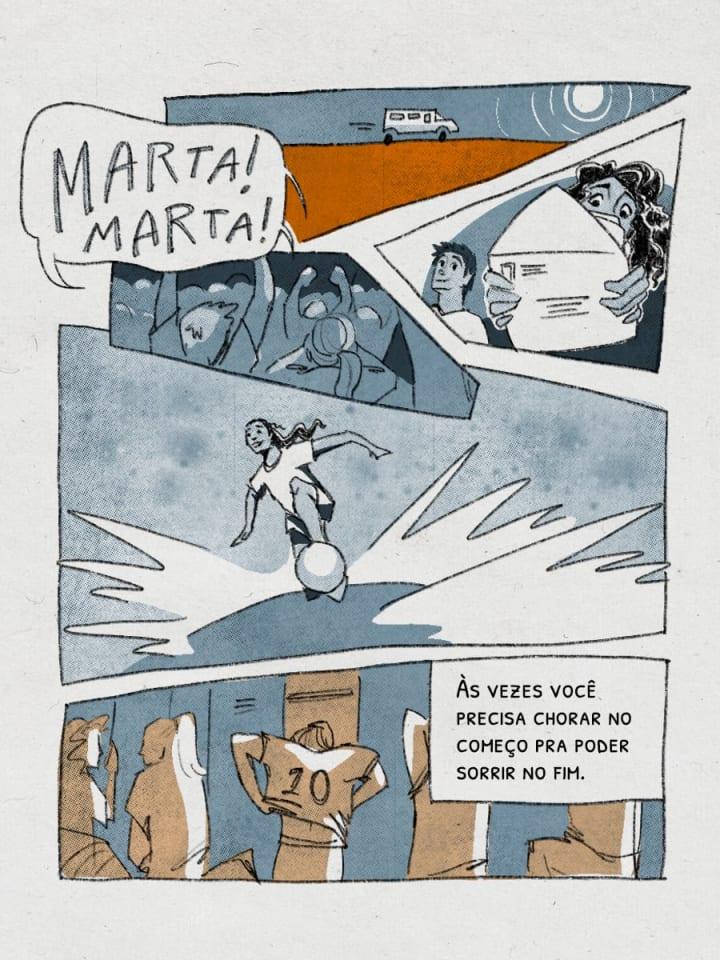 Às vezes você precisa chorar no começo pra poder sorrir no fim. Marta | Brazil | The Players' Tribune
