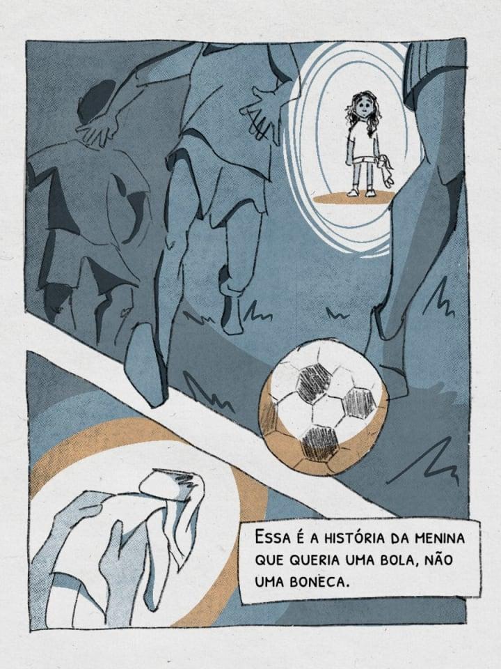 Essa é a história da menina que queria uma bola, nāo uma boneca. | Marta | Brazil National Soccer Team | The Players' Tribune