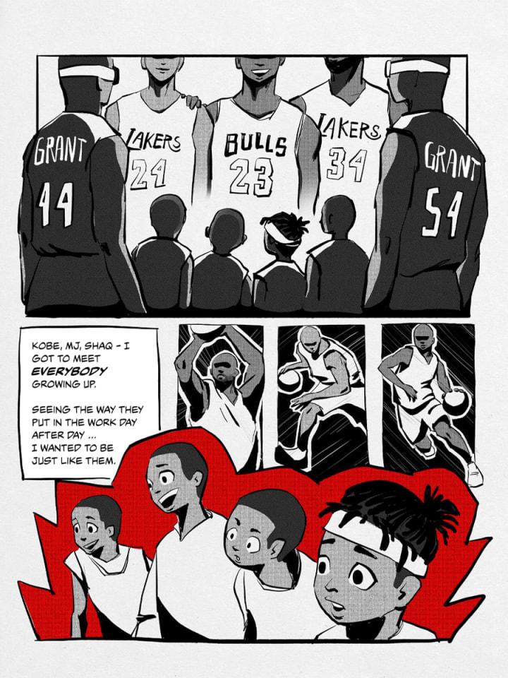 Kobe, MJ, Shaq — I got to meet everybody growing up. | Jerami Grant | Detroit Pistons | The Players' Tribune
