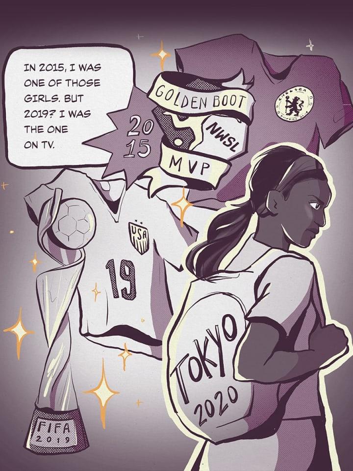 Crystal Dunn   USWNT   The Players' Tribune