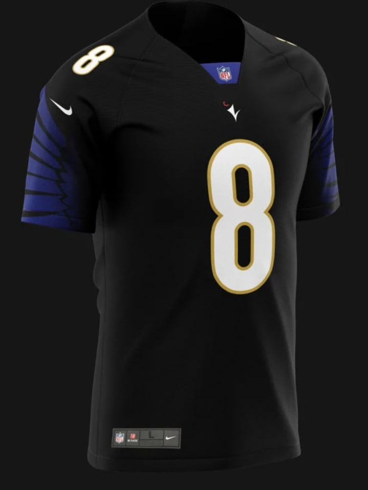 Ravens New Uniform Concept Design On Reddit Looks Amazing