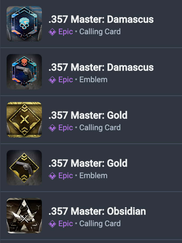 Modern Warfare Weapon Mastery Calling Cards And Emblems Leaked