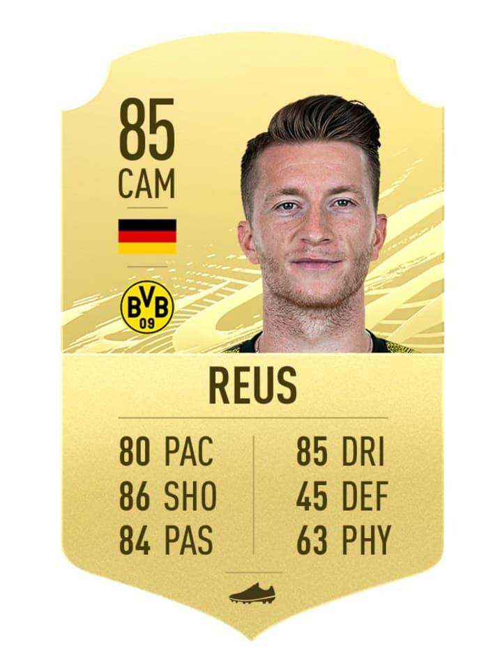 Marco Reus's FIFA 21 Rating
