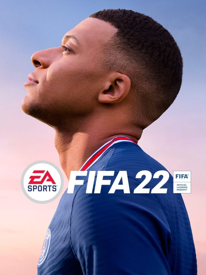 Mbappe is the FIFA 22 cover star