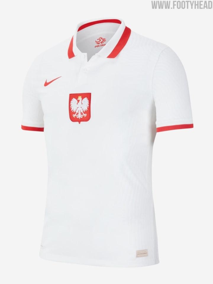 Polens Heimtrikot
