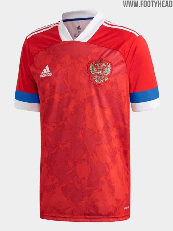Russlands Heimtrikot