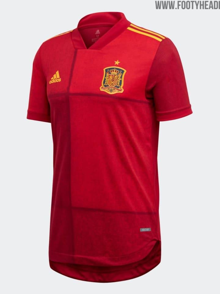 Spaniens Heimtrikot