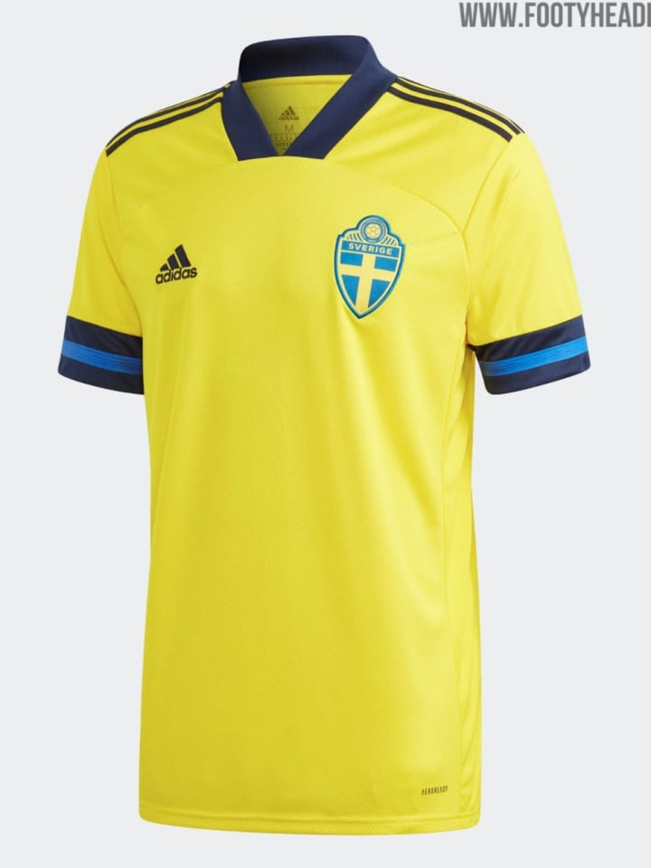 Schwedens Heimtrikot