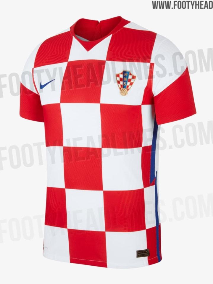 Kroatiens Heimtrikot