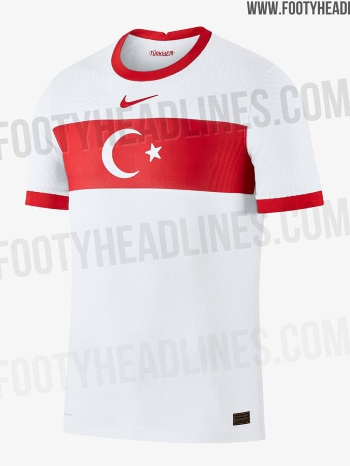 Das Heimtrikot der Türkei