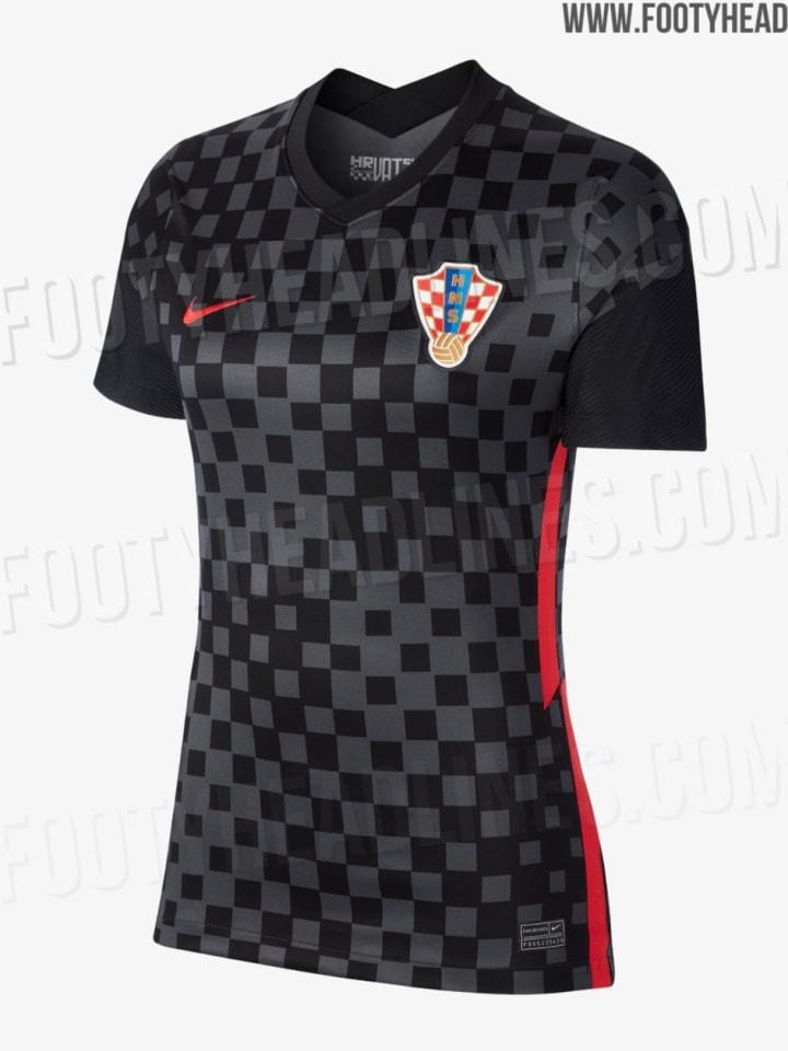Kroatiens Auswärtstrikot