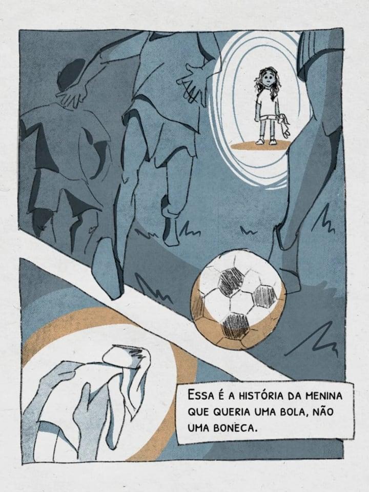 Essa é a história da menina que queria uma bola, nāo uma boneca. | Marta | Seleção Brasileira Futebol | The Players' Tribune