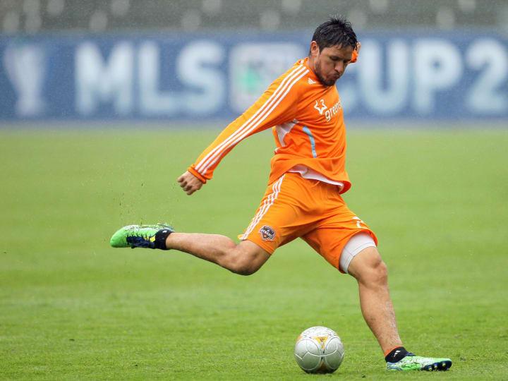 2012 MLS Cup - Houston Dynamo Training Session