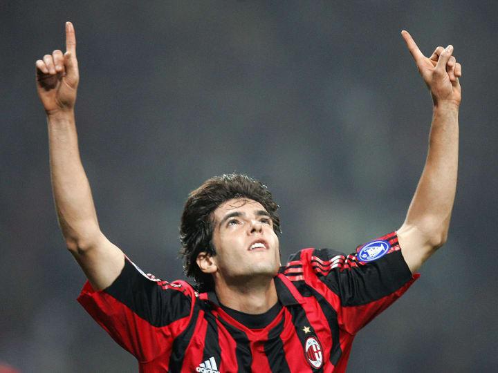 AC Milan's midfielder Kaka of Brazil cel