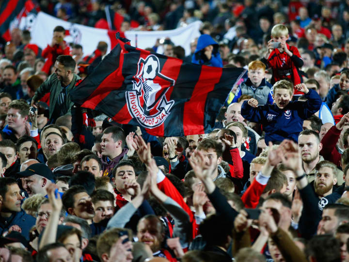 AFC Bournemouth v Bolton Wanderers - Sky Bet Championship