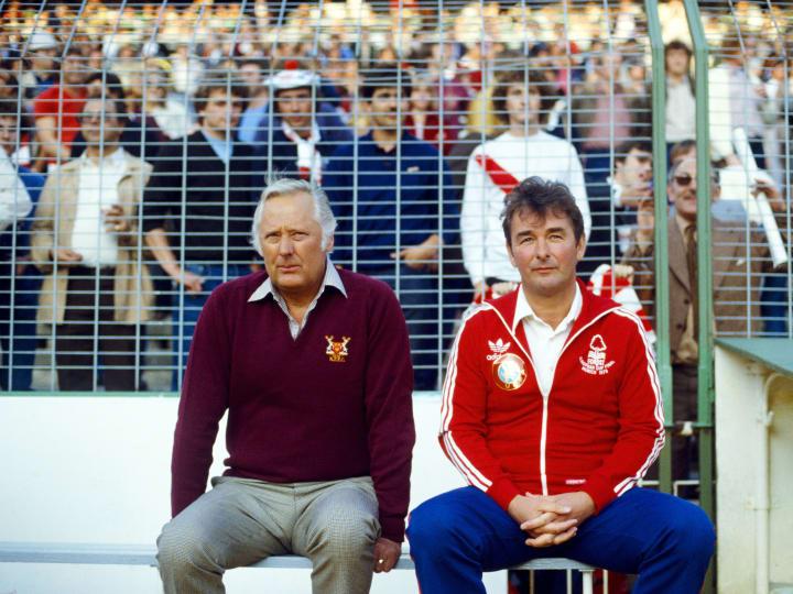Brian Clough 1980 European Cup Final