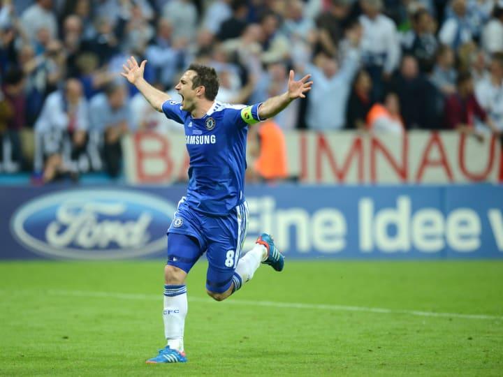 Chelsea's British midfielder Frank Lampa