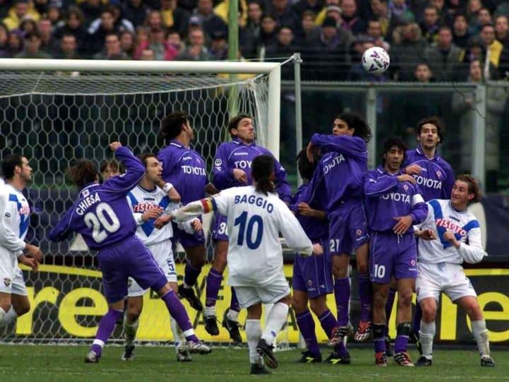 Fiorentina v Brescia X