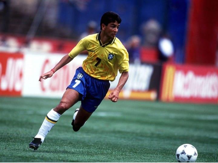 FUSSBALL: WM 1994 BRA-CMR 3:0 San Francisco 24.6.94