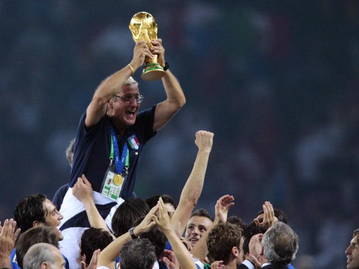 Head coach of the Italian team Marcello