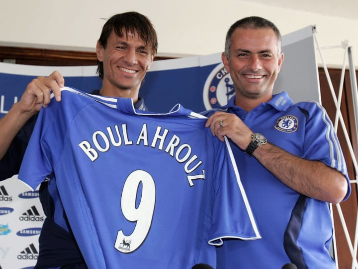 Khalid Boulahrouz & Chelsea Press Conference