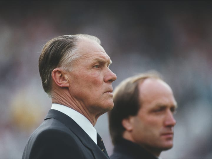 Rinus Michels Holland Manager 1987