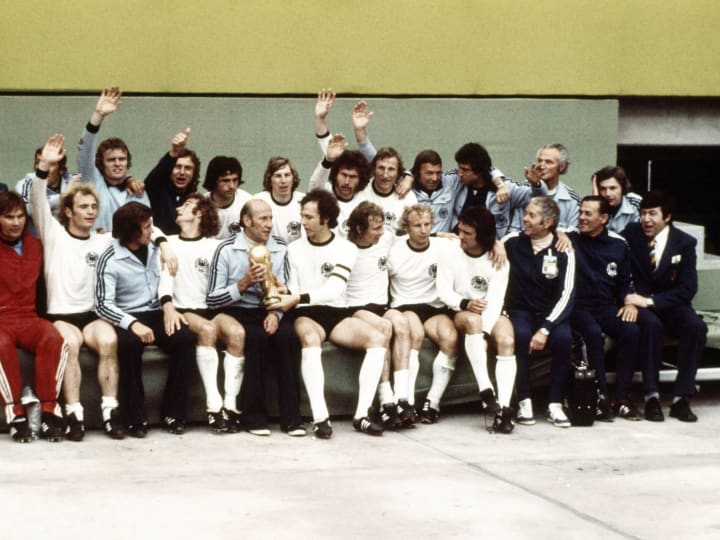 West Germany 1974 FIFA World Cup Winners