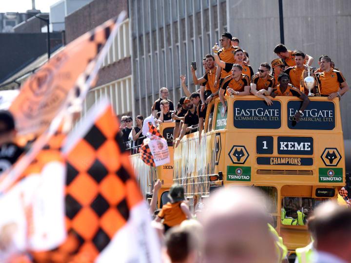 Wolverhampton Wanderers' Sky Bet Championship Winners' Parade