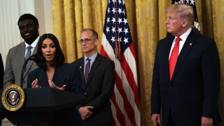 Kim Kardashian West, Donald Trump