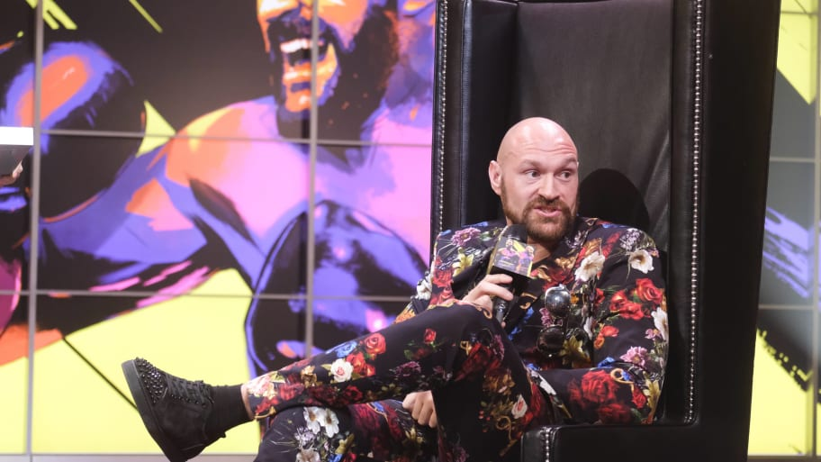 Tyson Fury Could Walk Away From Boxing When His Contract Is Up