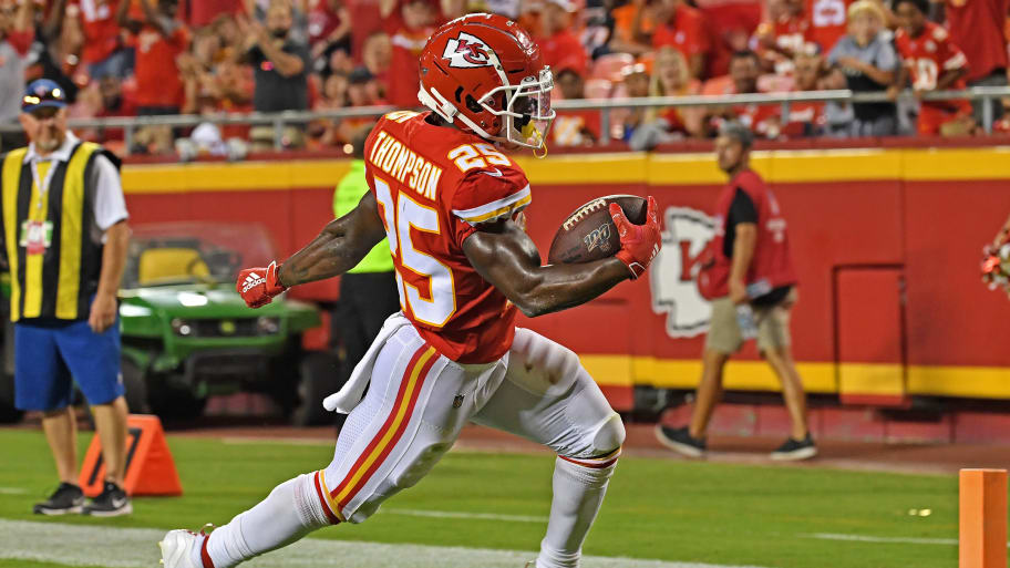 Darwin Thompson Fantasy Outlook Upgraded With LeSean McCoy and Damien Williams Injury Uncertainty