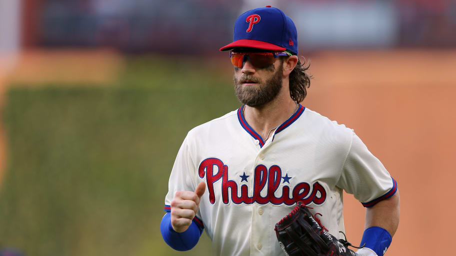 Bryce Harper Defends Phillies Prospects and Team's Future Amid Kris Bryant Trade Rumors