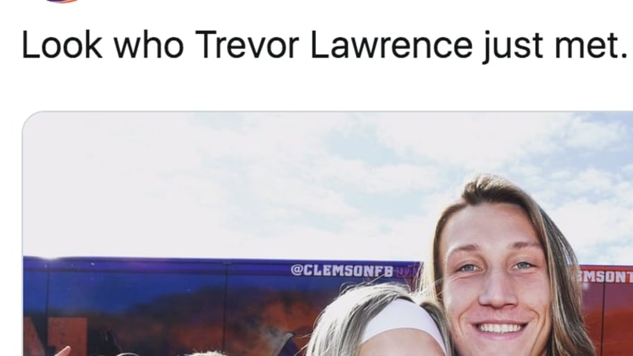 Internet TikTok  Lawrence Doppelganger at Meets Trevor
