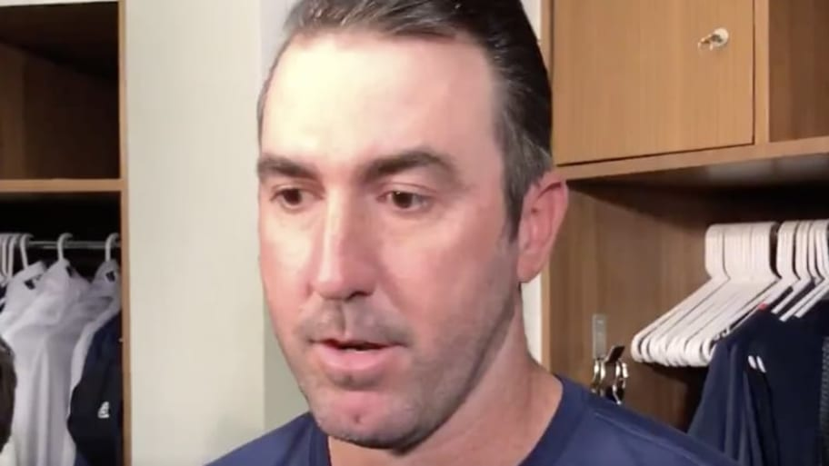 VIDEO: Justin Verlander Finally Opened His Mouth About Astros' Sign-Stealing Scandal and We Couldn't Care Less