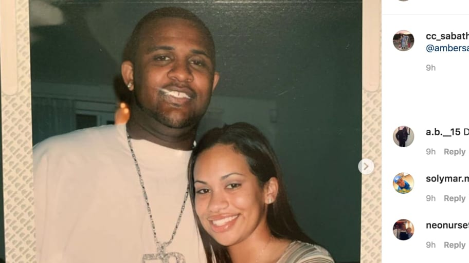 CC Sabathia Posts Adorable Valentine's Day Message to Wife Amber With Vintage Photos