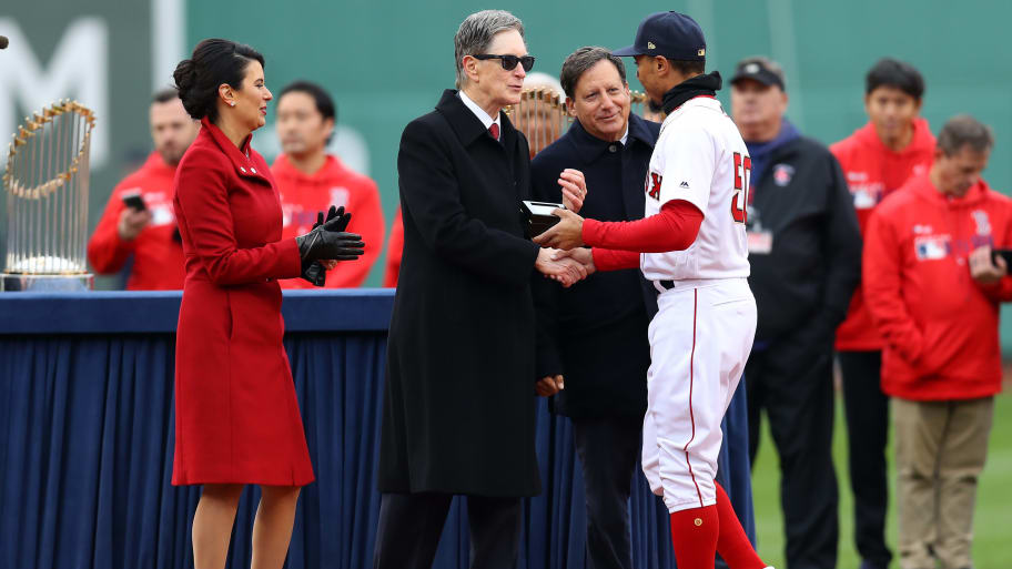 John Henry Attempting to Compare Mookie Betts-Red Sox Situation to Bryce Harper and Nationals is Laughable