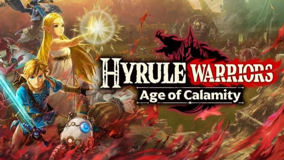 Hyrule Warriors Age of Calamity - cover