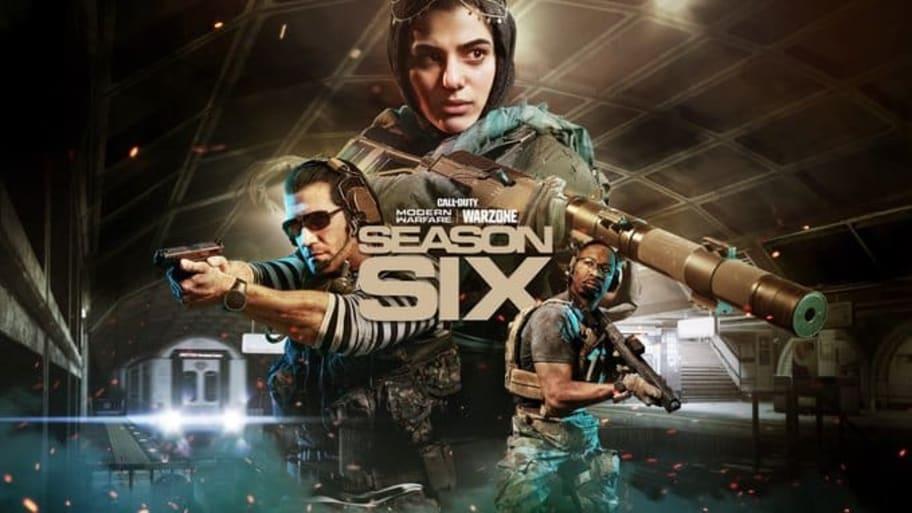 Warzone Season 6  - cover