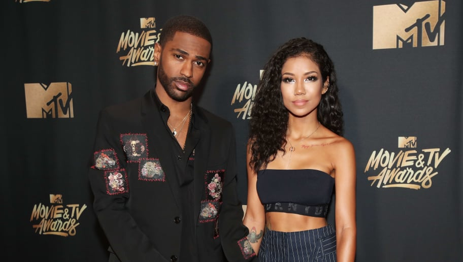 LOS ANGELES, CA - MAY 07:  Recording artists Big Sean and Jhene Aiko attend the 2017 MTV Movie And TV Awards at The Shrine Auditorium on May 7, 2017 in Los Angeles, California.  (Photo by Christopher Polk/Getty Images)