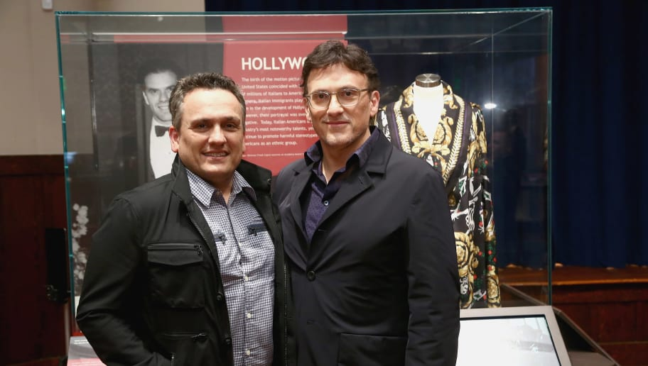 LOS ANGELES, CA - MAY 31:  Directors Joe Russo and Anthony Russo attend the Italian American Museum Of Los Angeles Unveils Exhibition Honoring The Russo Brothers at Italian American Museum of Los Angeles on May 31, 2018 in Los Angeles, California.  (Photo by Tommaso Boddi/Getty Images)