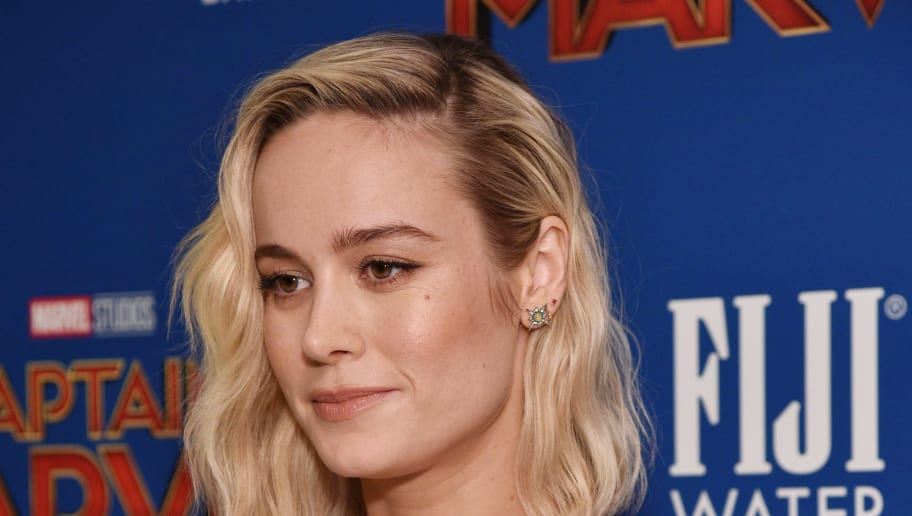 NEW YORK, NEW YORK - MARCH 06: Actress Brie Larson attends the  FIJI Water with the Cinema Society host a special screening of 'Captain Marvel' on March 06, 2019 in New York City. (Photo by Bryan Bedder/Getty Images for FIJI Water)