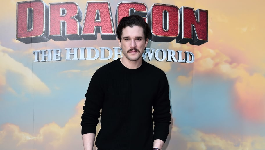 LONDON, ENGLAND - JANUARY 22: Kit Harington attends photo all at How To Train Your Dragon: The Hidden World Immersive Experience Photocall on January 22, 2019 in London, England. (Photo by Eamonn M. McCormack/Getty Images for Universal Pictures )