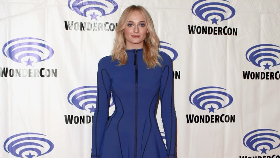 ANAHEIM, CALIFORNIA - MARCH 29: Sophie Turner attends the 'Dark Phoenix' press line during WonderCon 2019 at Anaheim Convention Center on March 29, 2019 in Anaheim, California. (Photo by Paul Butterfield/Getty Images)