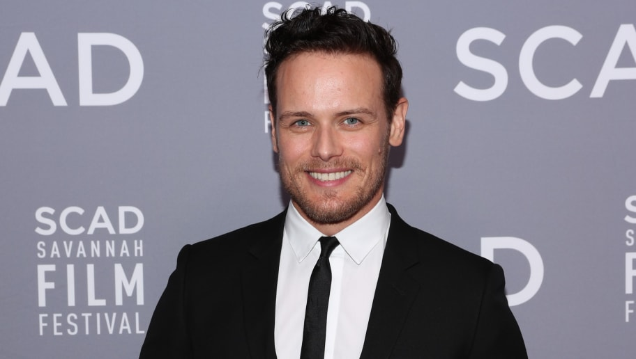 SAVANNAH, GA - OCTOBER 28:  Sam Heughan the 21st SCAD Savannah Film Festival Red Carpet for 'Outlander' Season Four on October 28, 2018 in Savannah, Georgia.  (Photo by Cindy Ord/Getty Images for SCAD)