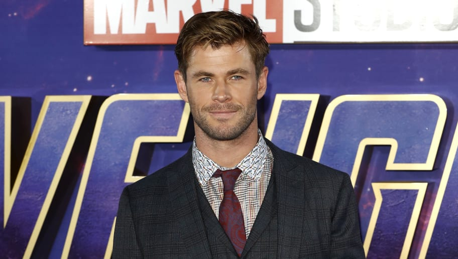 LONDON, ENGLAND - APRIL 10:  Chris Hemsworth attends the 'Avengers Endgame' UK Fan Event at the Picturehouse Central on April 10, 2019 in London, England. (Photo by John Phillips/Getty Images)