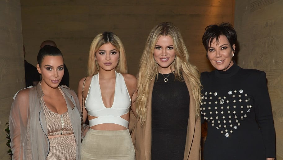 MALIBU, CA - SEPTEMBER 01:  Kim Kardashian West, Kylie Jenner, Khloe Kardashian and Kris Jenner host a  dinner and preview of their new apps launching soon at Nobu Malibu on September 1, 2015 in Malibu, California.  (Photo by Charley Gallay/Getty Images for Kardashian/Jenner Apps)
