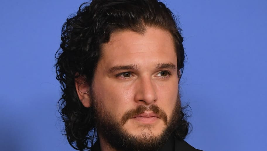 BEVERLY HILLS, CA - JANUARY 07: Actor Kit Harington poses in the press room during The 75th Annual Golden Globe Awards at The Beverly Hilton Hotel on January 7, 2018 in Beverly Hills, California.  (Photo by Kevin Winter/Getty Images)