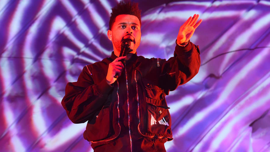 INDIO, CA - APRIL 20:  The Weeknd performs onstage during the 2018 Coachella Valley Music And Arts Festival at the Empire Polo Field on April 20, 2018 in Indio, California.  (Photo by Kevin Winter/Getty Images for Coachella)