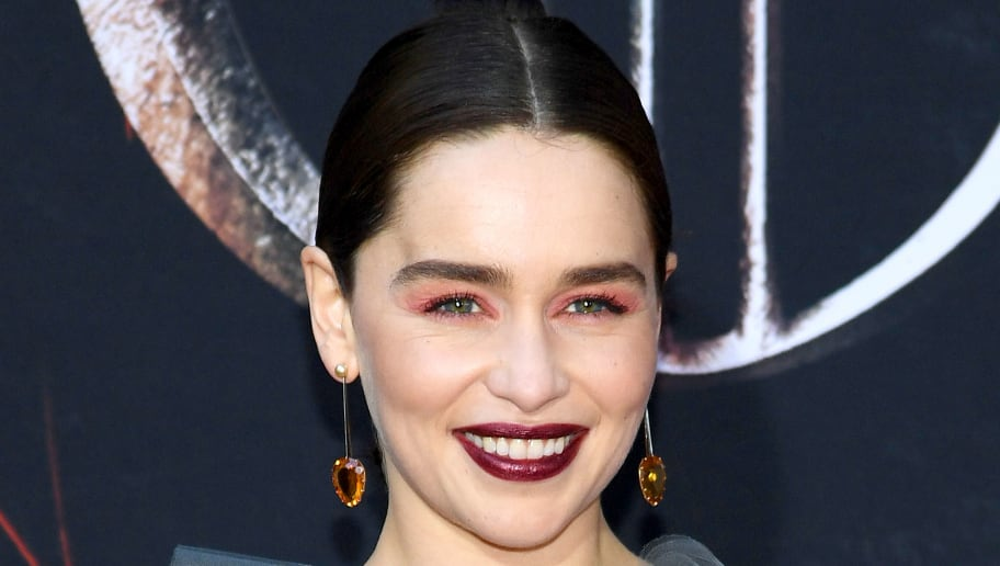 NEW YORK, NEW YORK - APRIL 03: Emilia Clarke attends the 'Game Of Thrones' Season 8 Premiere on April 03, 2019 in New York City. (Photo by Dimitrios Kambouris/Getty Images)