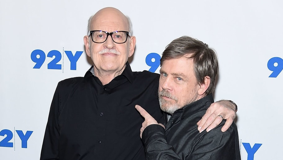 NEW YORK, NY - MARCH 23: Frank Oz and Mark Hamill attend the 92nd Street Y Present: Mark Hamill And Frank Oz at 92nd Street Y on March 23, 2018 in New York City.  (Photo by Jamie McCarthy/Getty Images)